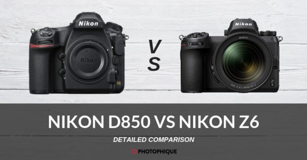 Nikon D850 vs Nikon Z6