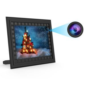 best for hidden home surveillance conbrov t10 hd 720p photo frame