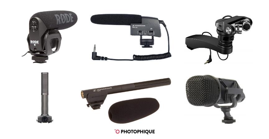 MIC-03 Camera External Stereo Video Recording Microphone for Interview for Nikon D7500//D7200//D5600//D5500//D5300//D3300//D810//D750