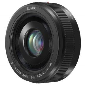 panasonic lumix g 20 mm ii f1.7