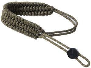 techion braided 550 paracord camera wrist strap