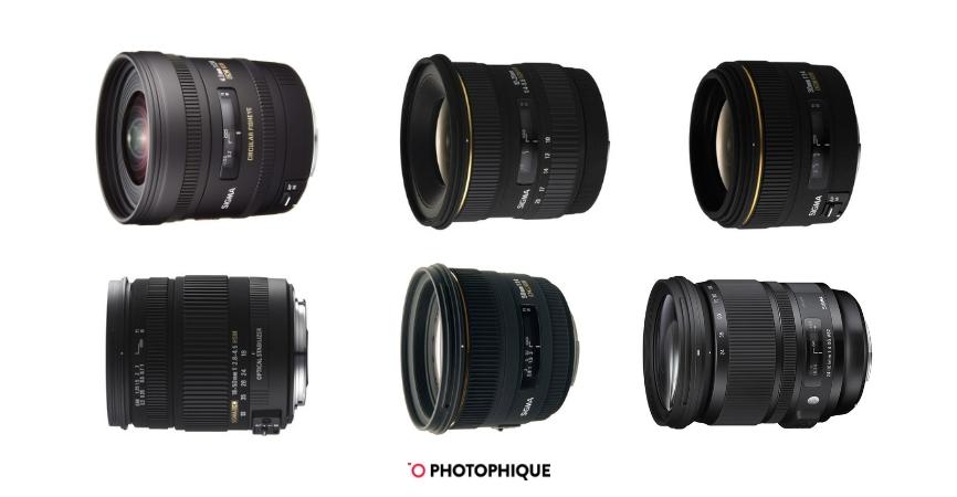 Best Sigma Lenses for DSLR Cameras