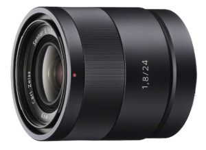 sony carl zeiss sonnar t e 24 mm f1.8 za e mount prime lens