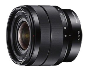 sony e 10-18 mm f4 oss