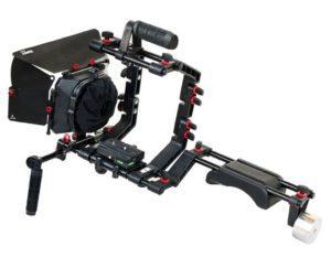 filmcity dslr camera shoulder support rig kit