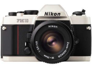 nikon fm10 with 35-70mm lens