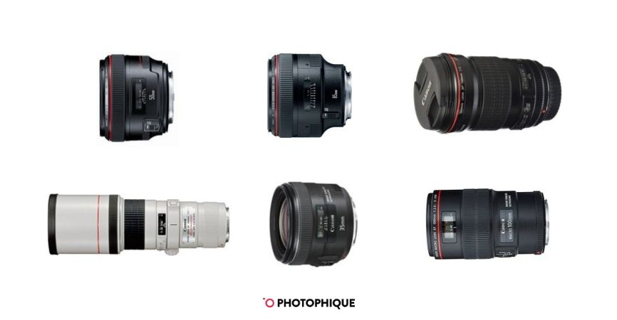 Best Canon EOS 6D Mark II Lenses
