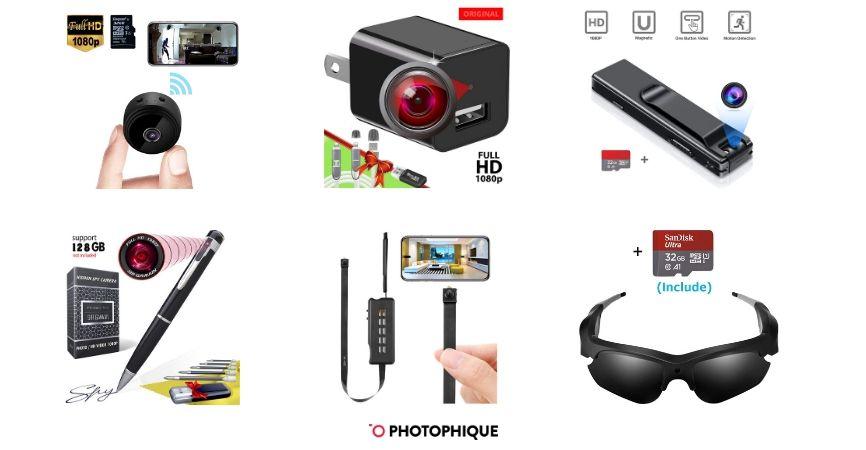 Best Hidden, Spy, & Nanny Cameras