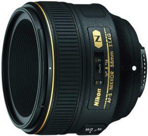 Nikon AF-S NIKKOR 58mm