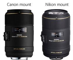 Canon & Nicon Mount Lenses