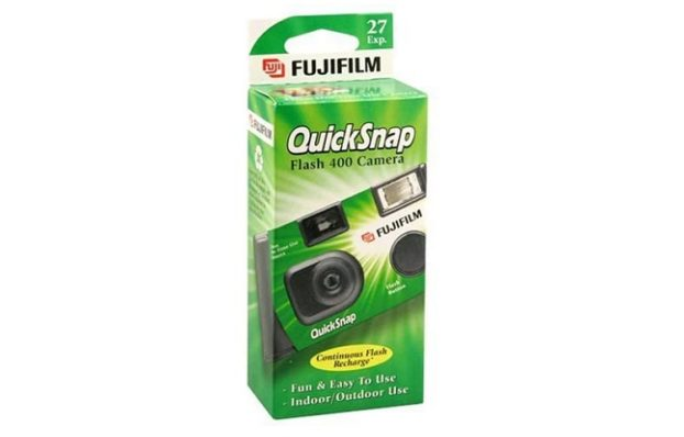 Fujifilm QuickSnap Flash 400 Disposable Camera Review