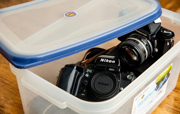storage for cameras