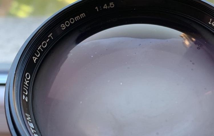 Fog inside camera lens