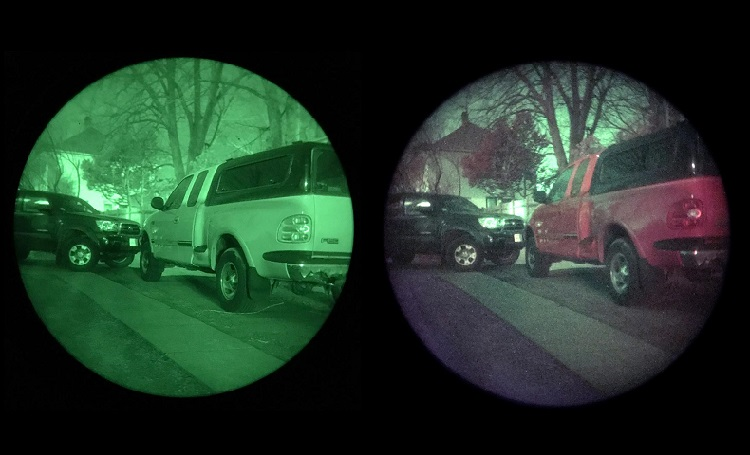 night vision in color