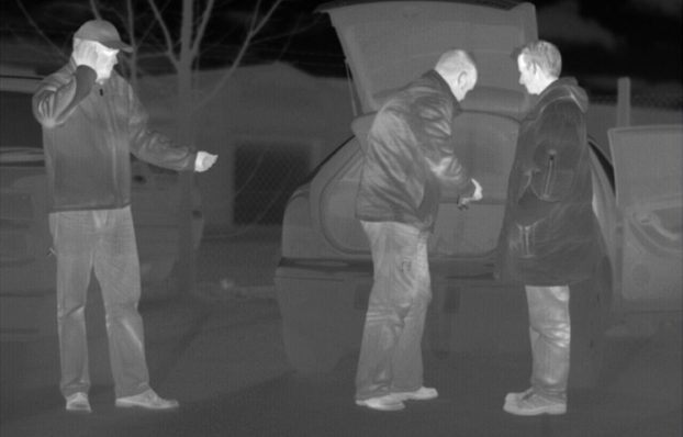 night vision with thermal imaging