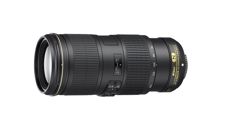 Nikon 70-200mm f/4G ED VR Nikkor Zoom Lens