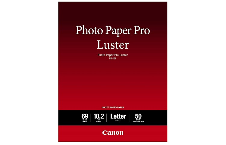 Canon Luster Photo Paper Review