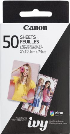 Canon ZINK Photo Paper Review